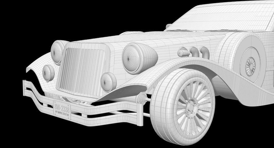 Limusina estirada royalty-free modelo 3d - Preview no. 14