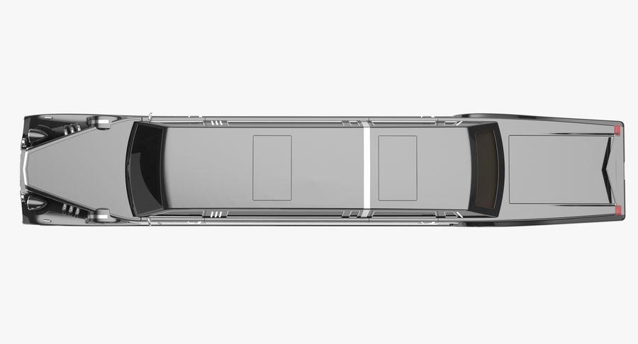 Limusina estirada royalty-free modelo 3d - Preview no. 12