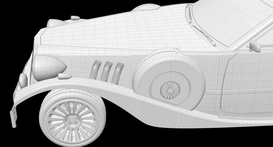 Limusina estirada royalty-free modelo 3d - Preview no. 23