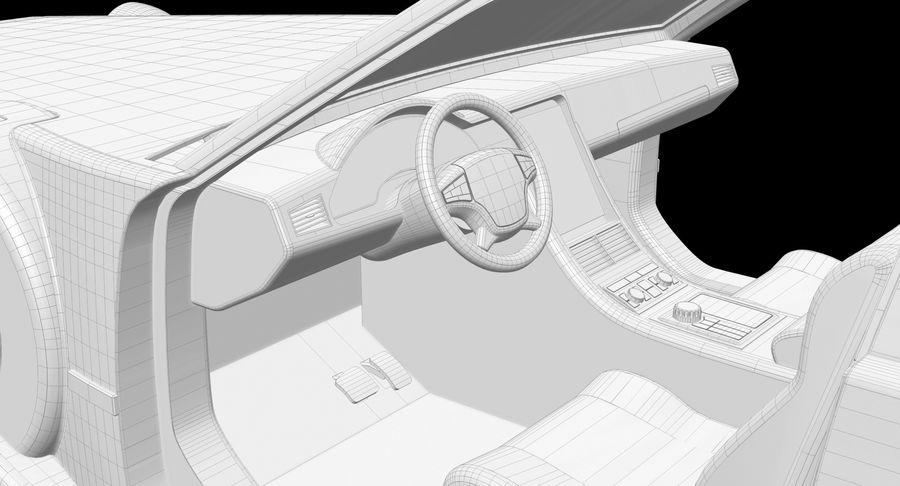 Limusina estirada royalty-free modelo 3d - Preview no. 18