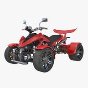 Quad Bike Spy Racing 350CC 2016 3d model