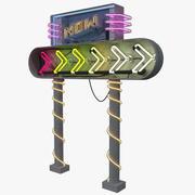 Sinal de neon 3d model