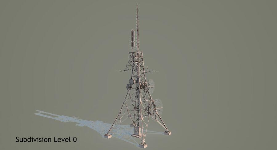 통신 타워 royalty-free 3d model - Preview no. 17