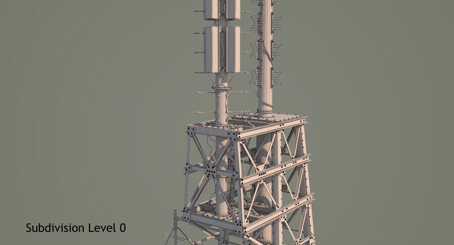 통신 타워 royalty-free 3d model - Preview no. 19