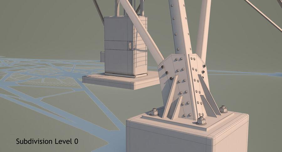 통신 타워 royalty-free 3d model - Preview no. 23