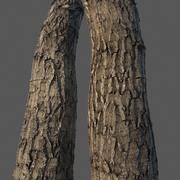 Materiale Vray corteccia di legno (trame senza soluzione di continuità 4k) 3d model