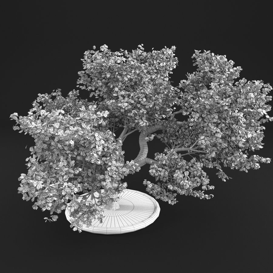 Apfelbaum 15 royalty-free 3d model - Preview no. 18