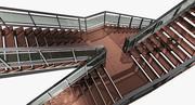 Лестница 2 3d model
