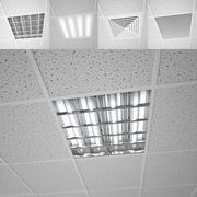 Modulair plafond 3d model
