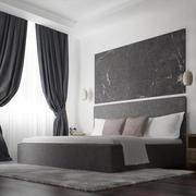 Simple Bedroom_3dmax2014_vray 3d model