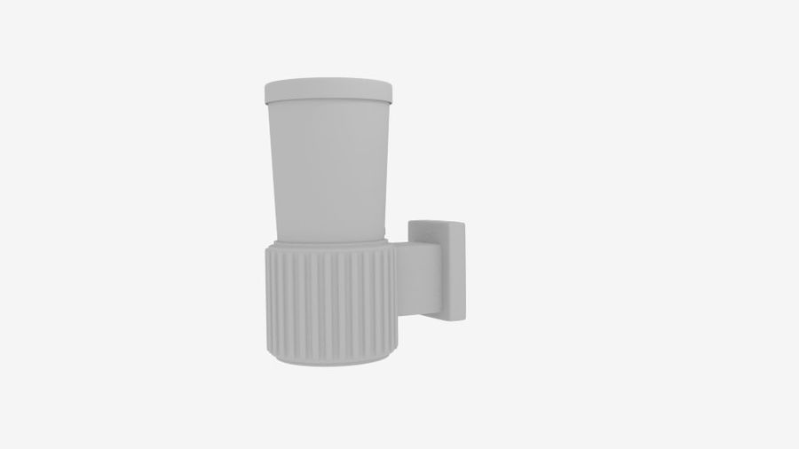 Wall Fence Light royalty-free 3d model - Preview no. 5