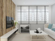 Simple Living Room 3d model