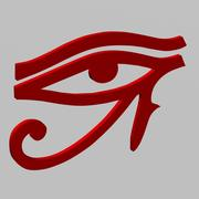 Eye of Ra (Horus) 3d model