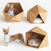 柯基犬 3d model