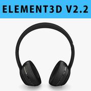 E3D - Apple Solo3 Kablosuz Kulaklıkları Atıyor 3d model