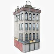 Edifício de apartamentos XI 3d model