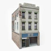Lägenhet hus I 3d model