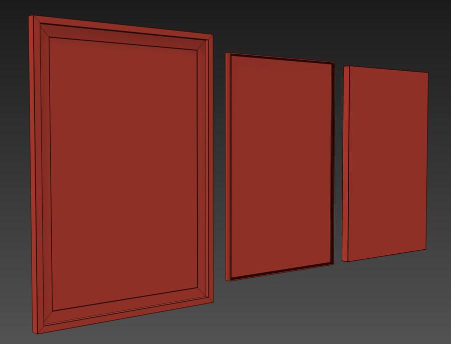 JUNIQE Tropical Set-01 Framed royalty-free 3d model - Preview no. 5