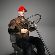İşçi sürücüsü 02 3d model