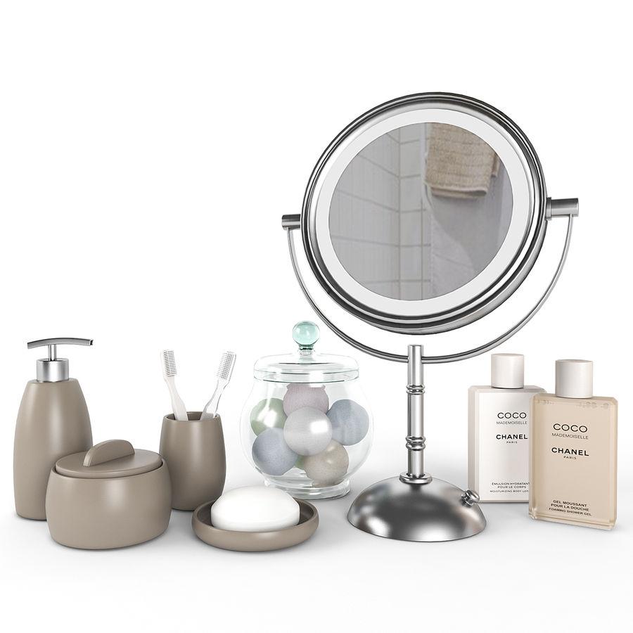 Banyo aksesuarları royalty-free 3d model - Preview no. 1