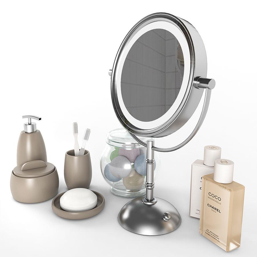 Banyo aksesuarları royalty-free 3d model - Preview no. 2