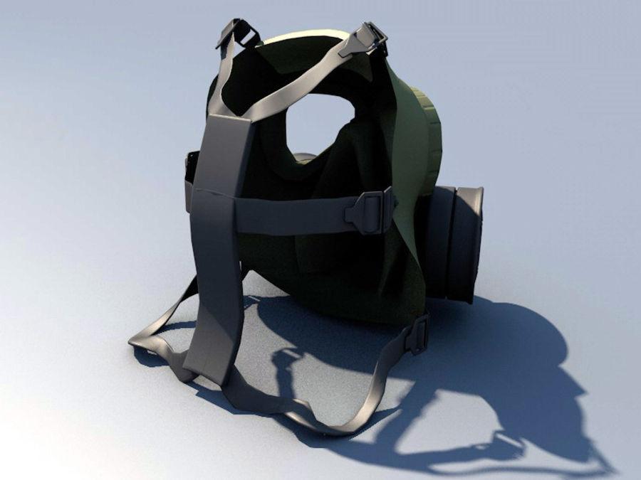 ガスマスク royalty-free 3d model - Preview no. 2