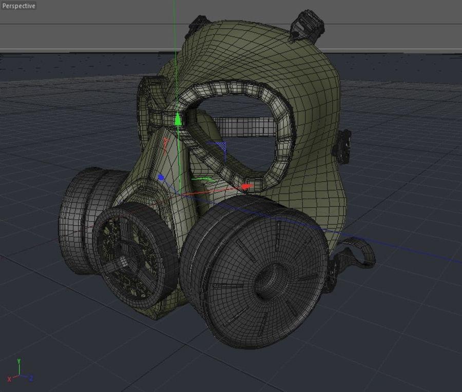 ガスマスク royalty-free 3d model - Preview no. 8