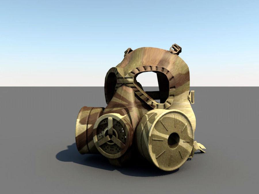 ガスマスク royalty-free 3d model - Preview no. 16