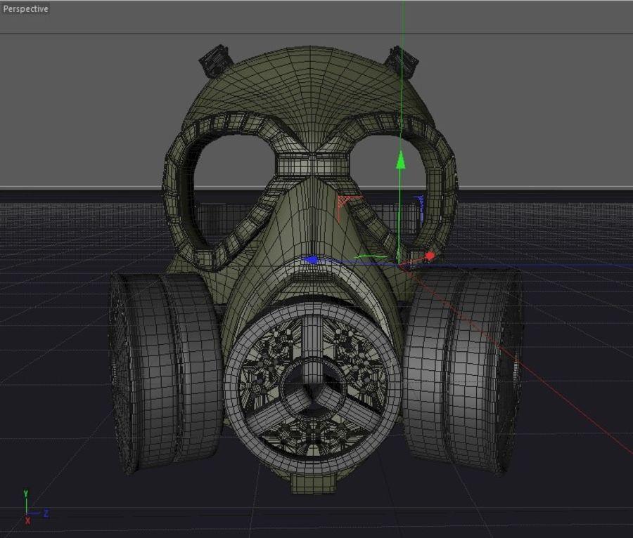 ガスマスク royalty-free 3d model - Preview no. 1