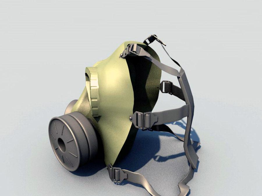 ガスマスク royalty-free 3d model - Preview no. 14