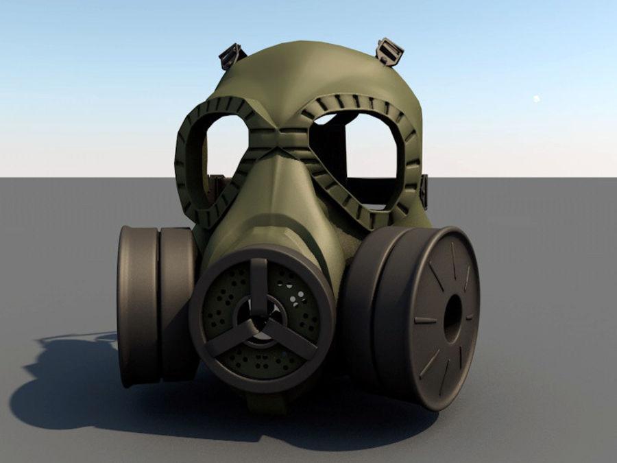 ガスマスク royalty-free 3d model - Preview no. 3