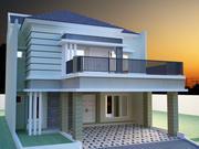 дом 1 3d model