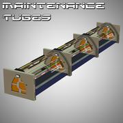 Poser Bakım Tüpleri 3d model