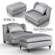 Sessel Galimberti Nino Tosca 3d model