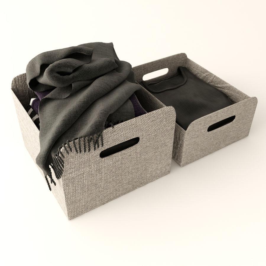 Коробка вещей royalty-free 3d model - Preview no. 1
