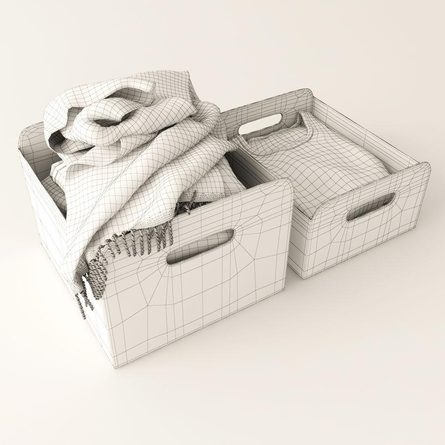 Коробка вещей royalty-free 3d model - Preview no. 7