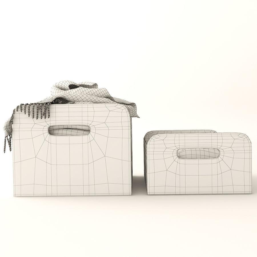 Коробка вещей royalty-free 3d model - Preview no. 11
