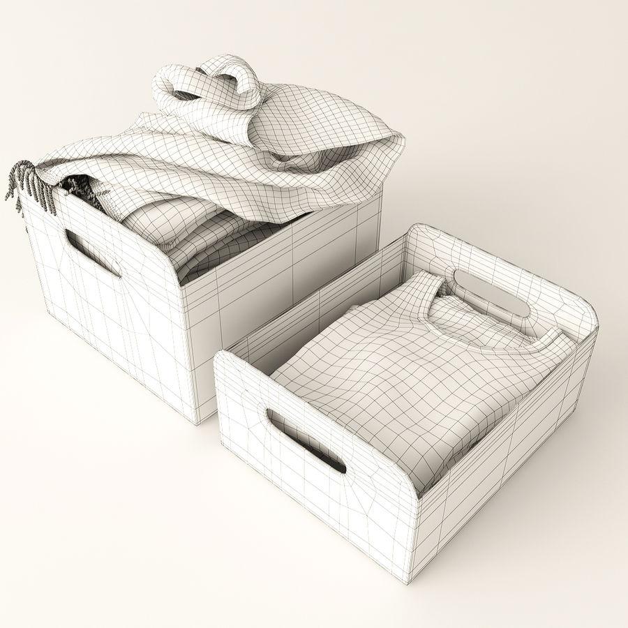 Коробка вещей royalty-free 3d model - Preview no. 9