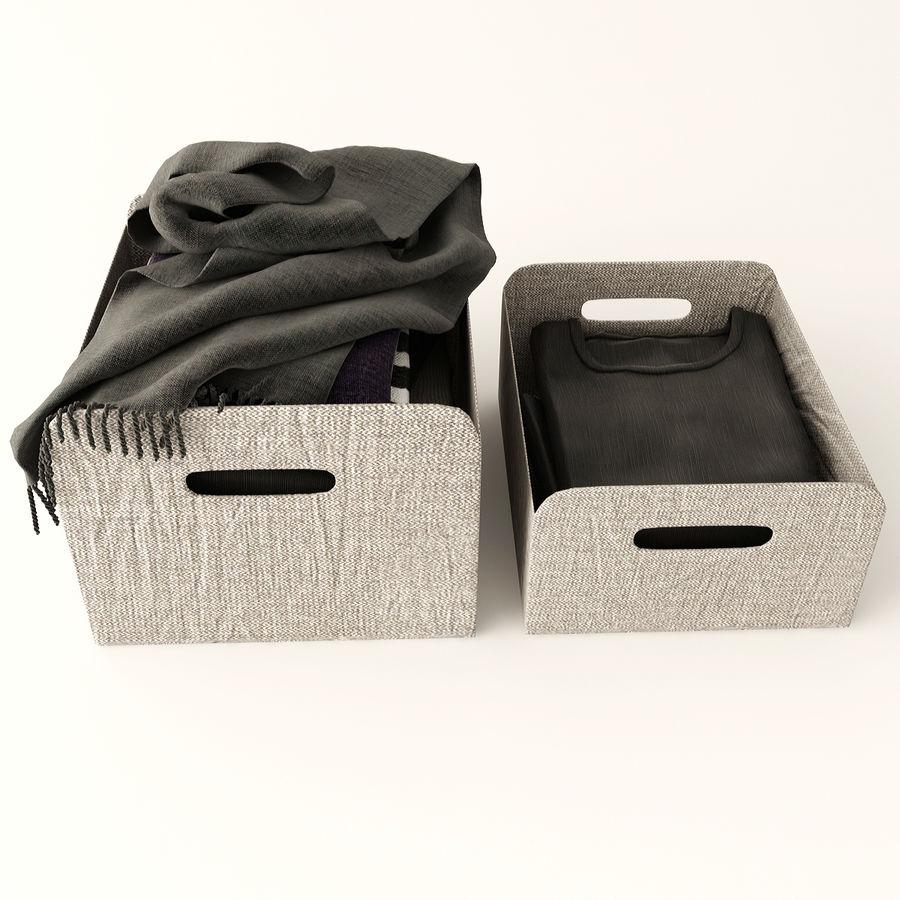Коробка вещей royalty-free 3d model - Preview no. 2