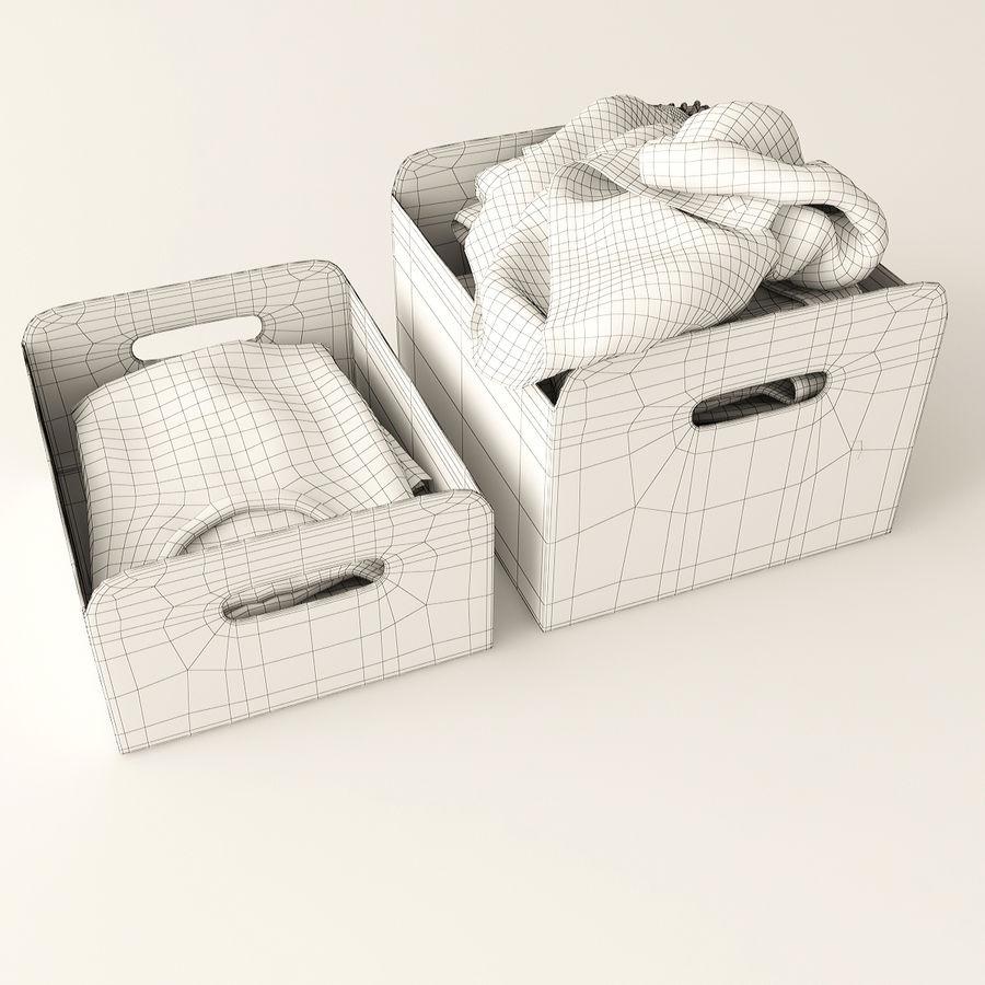 Коробка вещей royalty-free 3d model - Preview no. 10