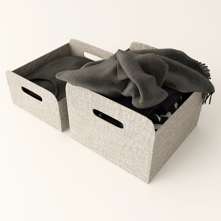 Коробка вещей royalty-free 3d model - Preview no. 6