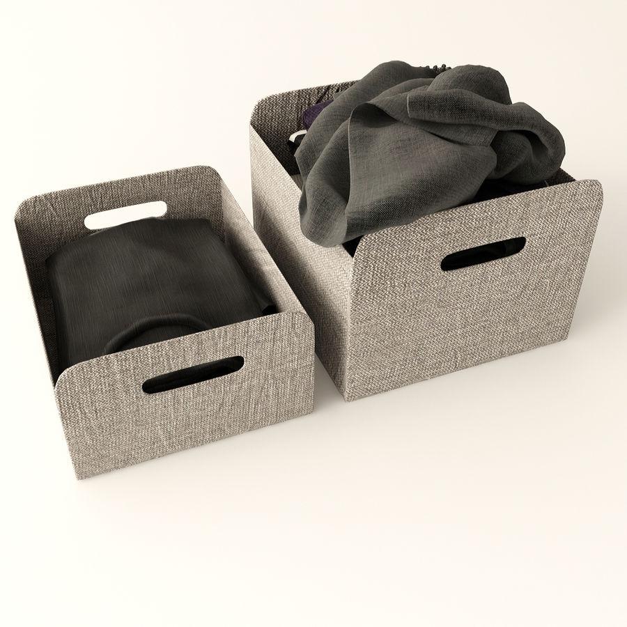 Коробка вещей royalty-free 3d model - Preview no. 5