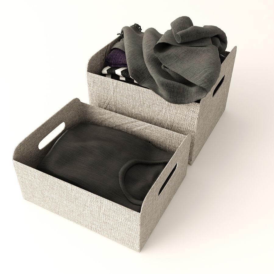 Коробка вещей royalty-free 3d model - Preview no. 4