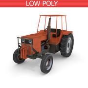 Traktor auf dem Bauernhof 3d model