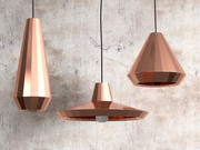 Copper Lights 3d model
