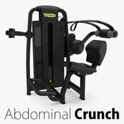 Technogym - SP Abdominal Crunch 3d model