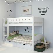 Кровать 2 3d model