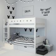 침대 3 3d model