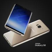 Smartphone Samsung Galaxy S8 (alle Farben) 3d model