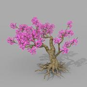 Drzewo brzoskwiniowe 2 3d model